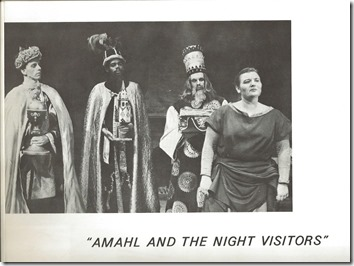 1964 Amahl Photo