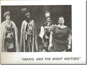 1964 Amahl Photo