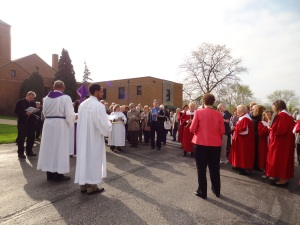 Joint Palm Sunday Procession 2012