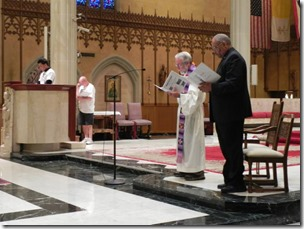 2014-07-12 Prayer Service at St. John the Baptist Catholic Cathedral