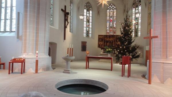 St. Peter and Paul Church Sanctuary, Eisleben, Germany