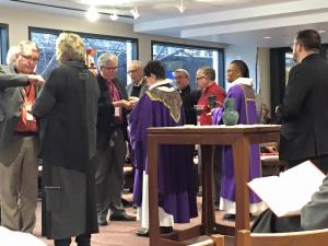 Opening Eucharist at the 2016 Spring Conference of Bishops -- Photo by Bishop Ray Tiemann, Southwestern Texas Synod