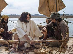 Jesus questions Peter