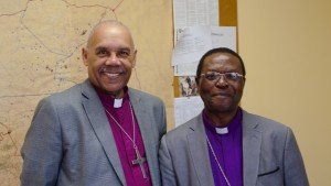 Bishop SWS Sihlango met with me at his office.