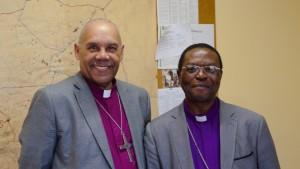 Bishop SWS Sihlango met with me at his office.