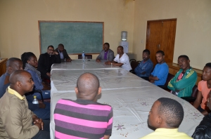 Meeting with theological Students (2)
