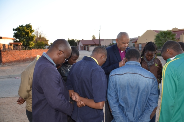 Praying with Theological Students (1)