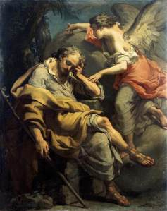 Gaetano Gandolfi, Angel Appears to Joseph in a Dream, c. 1790.