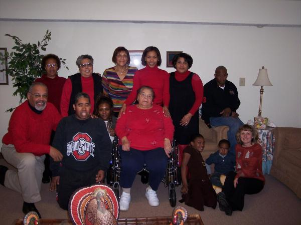 My Family - Thanksgiving 2008
