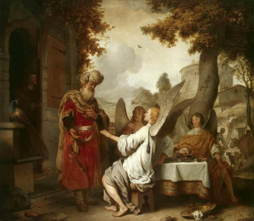 Gerbrand van den Eeckhout, Abaham and the Three Angels, 1656