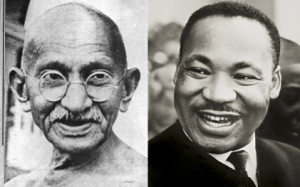 Gandhi and King