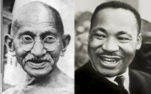 Gandhi and King